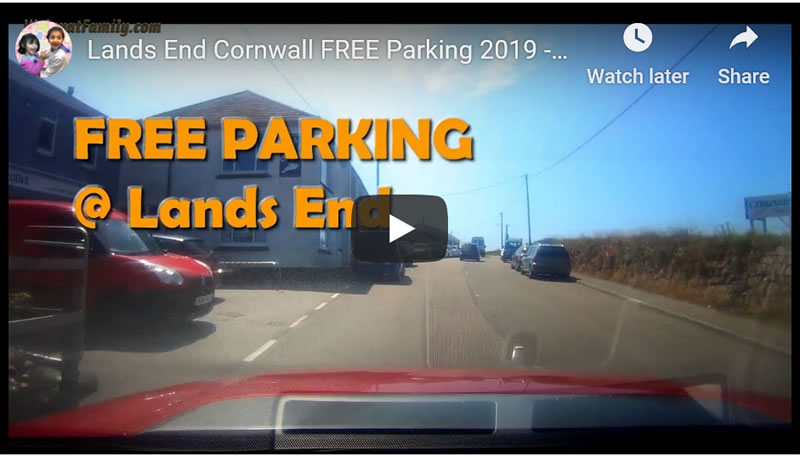 FREE Parking at Lands End Cornwall! How to Avoid Car Park Charge