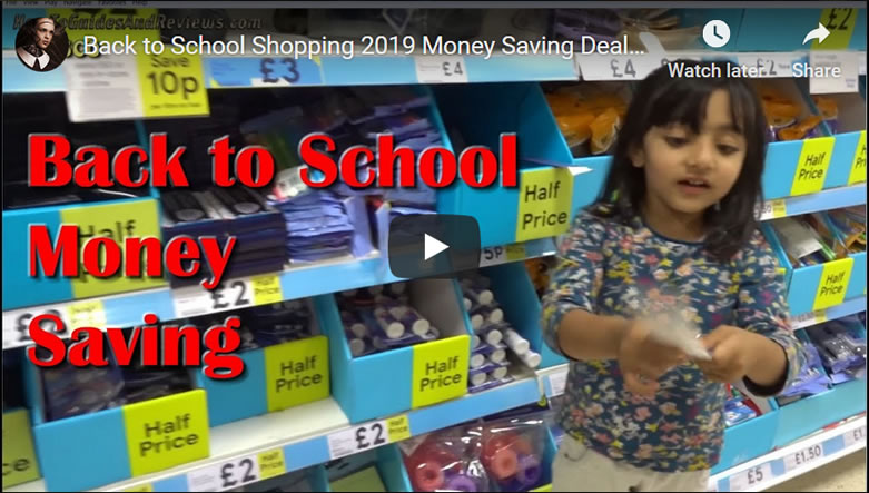 Back to School Shopping 2019 Money Saving Deals - Tesco vs Morrisons vs Poundland