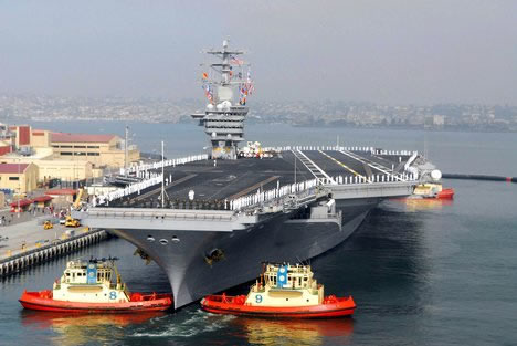 Troubled Persian Gulf destination for Nimitz