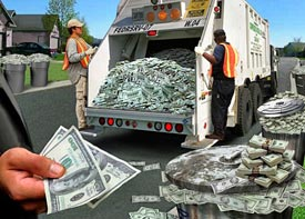 Washington is dead set on turning your cash into trash!